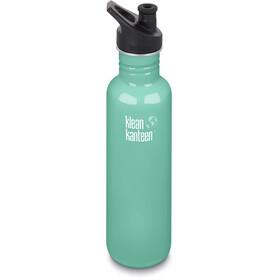 Klean Kanteen Classic Flaske Sport Cap 800ml, sea crest